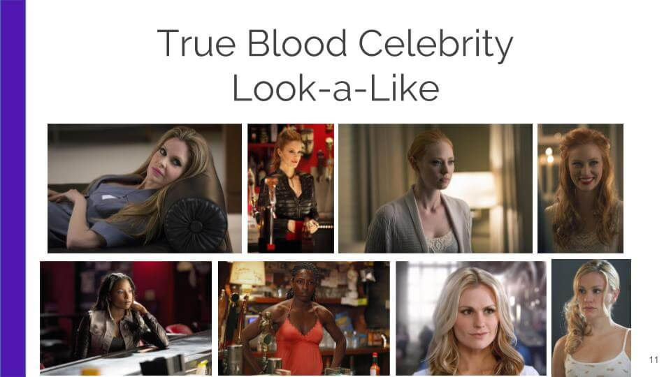 Celebrity look a like application use case for facial recognition