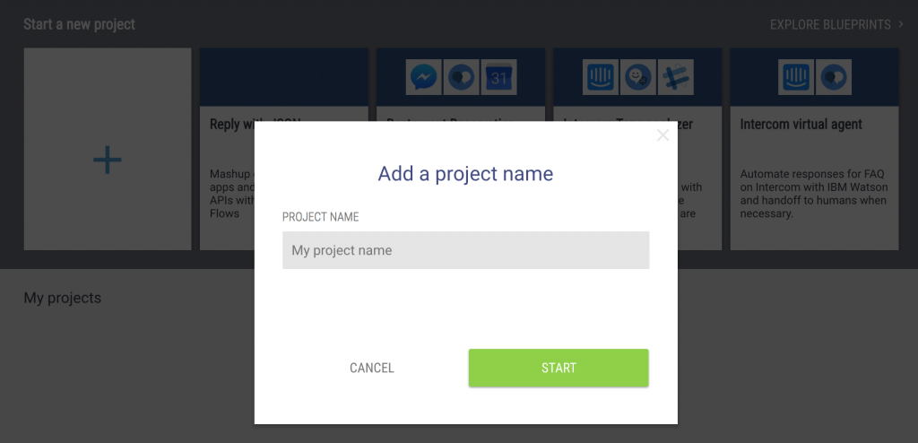 add a project